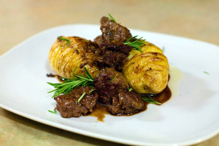 Tenderloin Chain in Demi-Glace