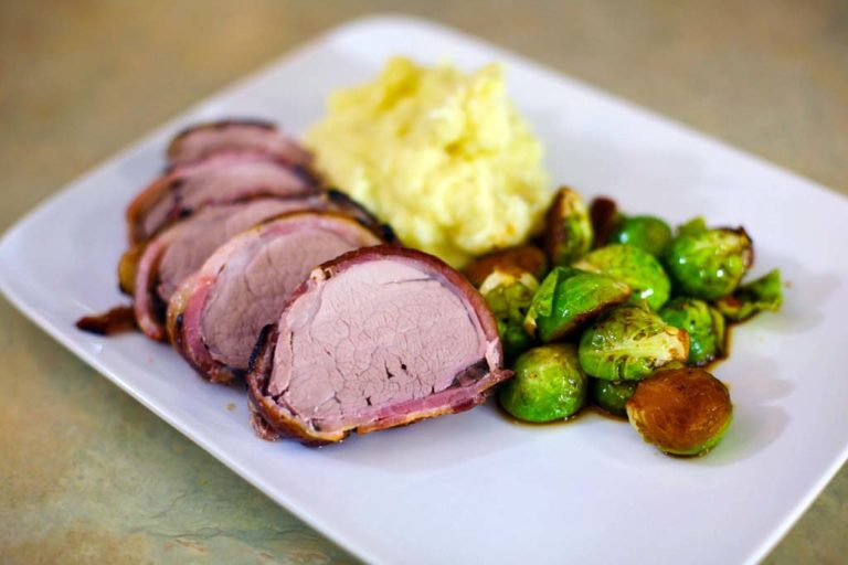 Bacon-Wrapped Pork Tenderloin