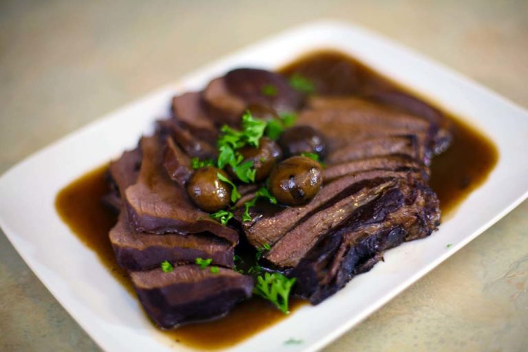 Braised Beef Tongue