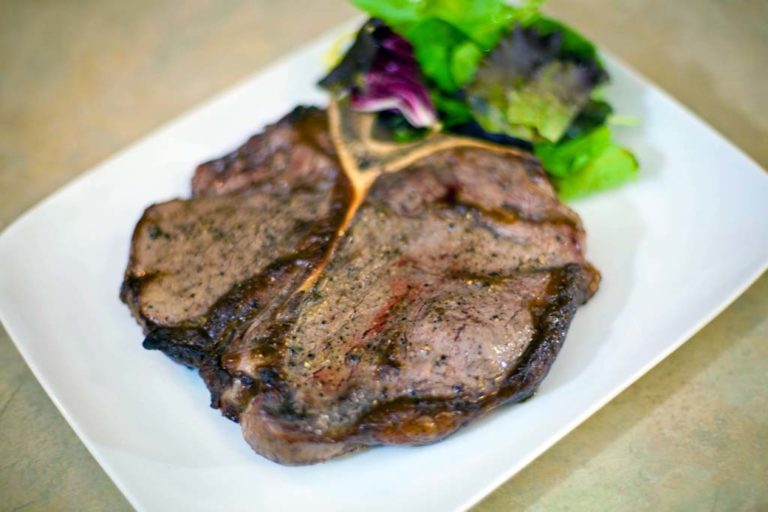 Broiled Porterhouse Steak