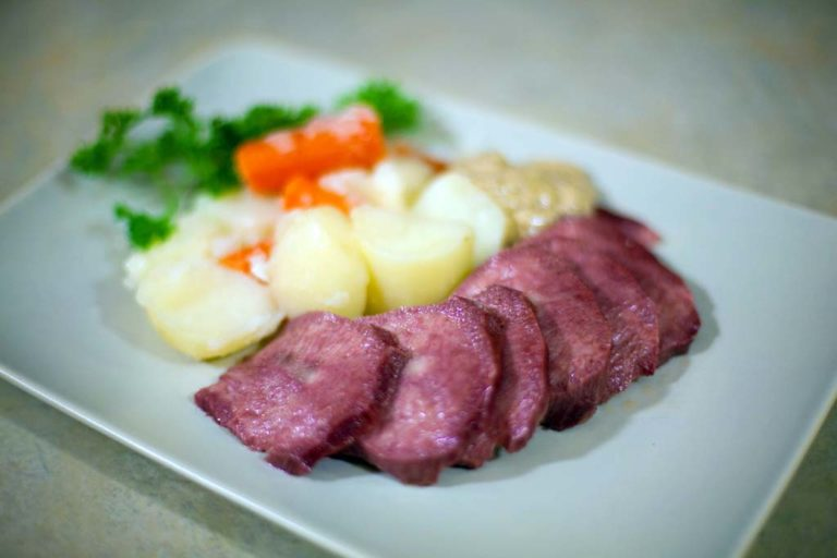 Boiled Corned Beef Tongue