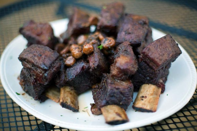 Grilled Bison Short Ribs