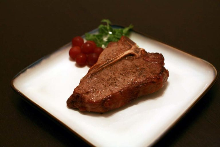 Broiled T-Bone Steak