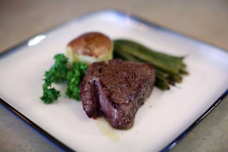Broiled Top Sirloin Steak