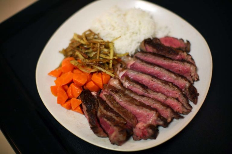 Pan-Fried Ribeye Steak