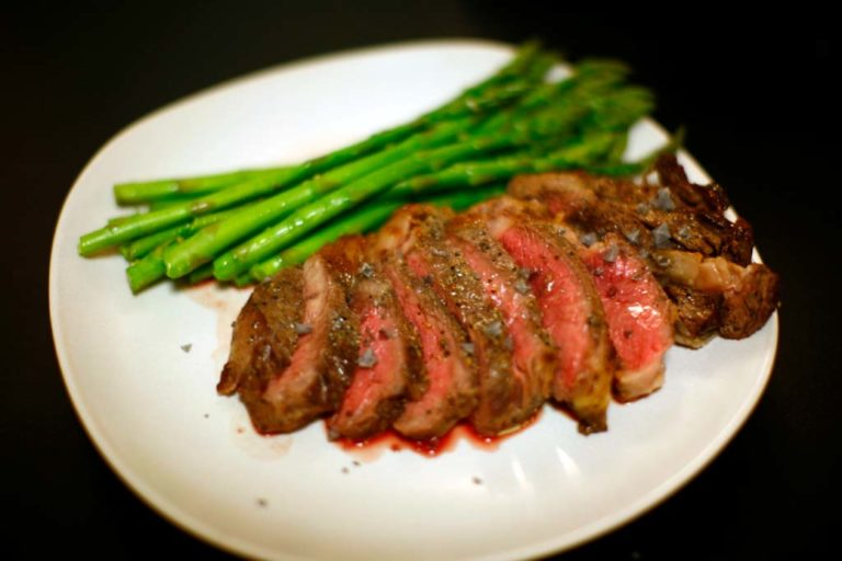 Broiled Buffalo Steak