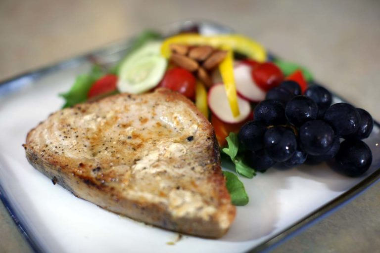 Broiled Swordfish Steak
