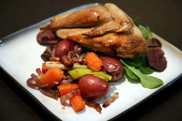 Roasted Pheasant