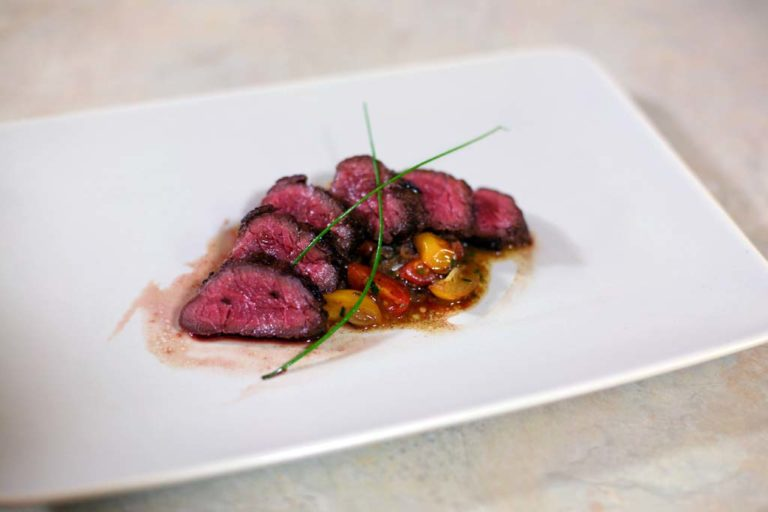 Pan-Fried Bison Hanger Steak