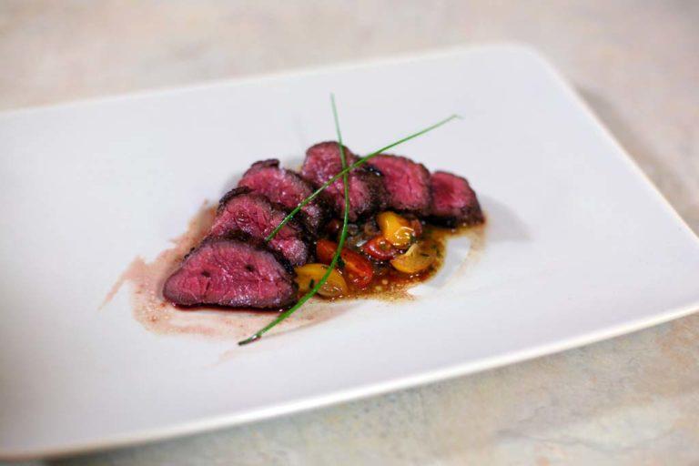 Pan-Fried Bison Hanger Steak