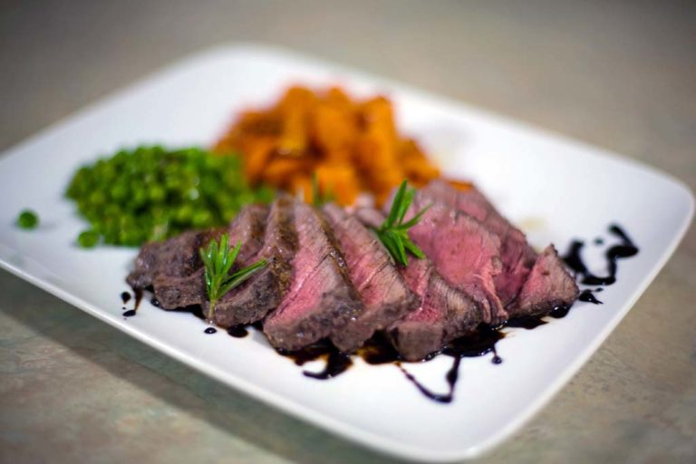 Pan-Fryed Filet Mignon