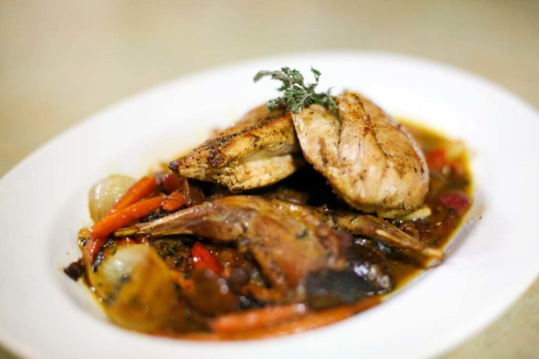 Pan Roasted Grouse